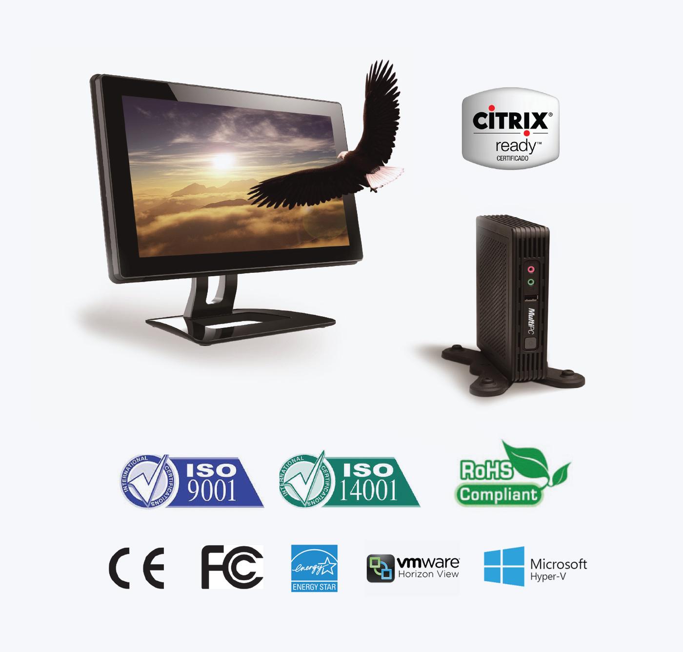 Thin Client ARM CORTEX A9 | Multi-PC Tecnología Thin Client & VDI